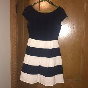 8fa50ab929a Women s Stripe White Macy s Striped Dress on Poshmark